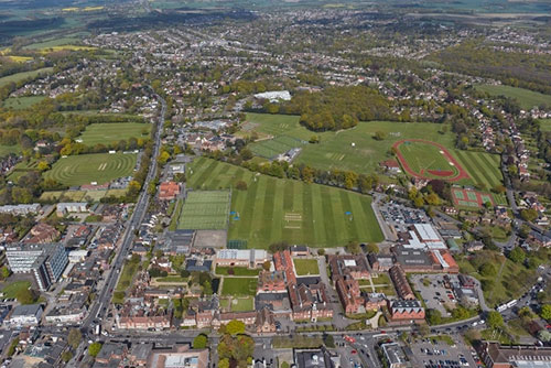 Brentwood School Arial View